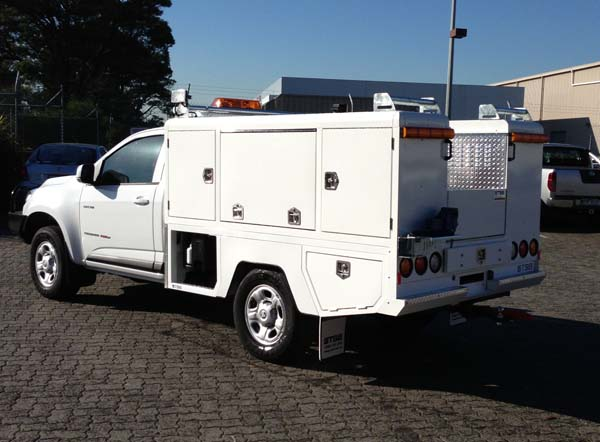 Service Body Electrical Trade Solutions - FE2400 Fixed Electrical Service Body