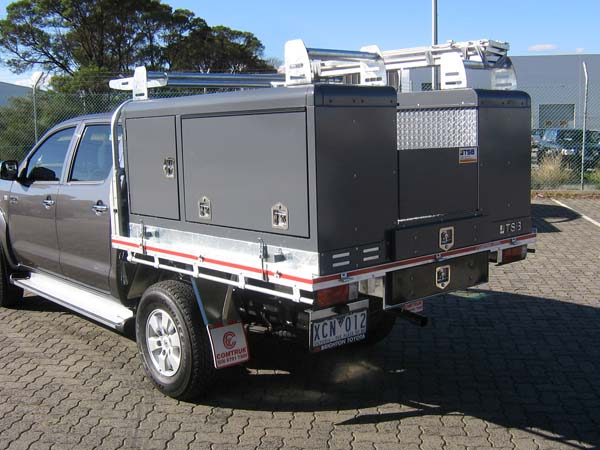Rigeback Electrical Lift-Off Service Body