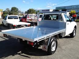 2400 ats alloy tray with sides - single cab