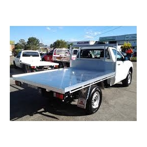 2400 AT Alloy Tray - Single Cab