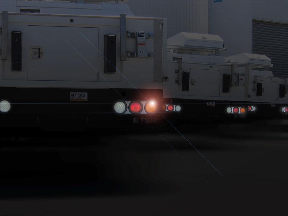 led rear tail light set