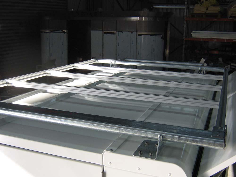 ladder rack load bars
