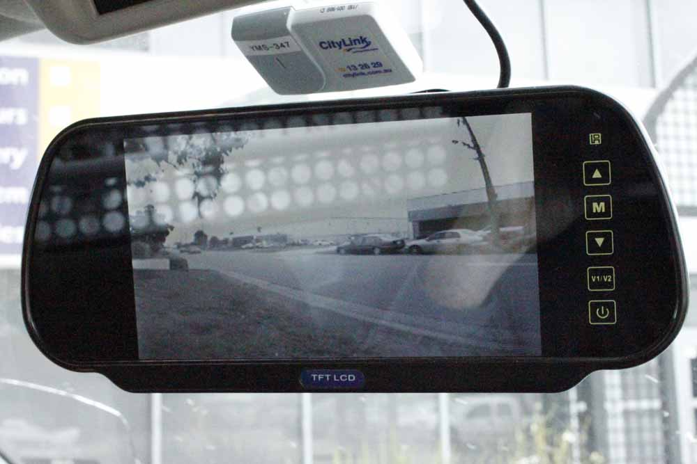 reversing camera - mirror replacement