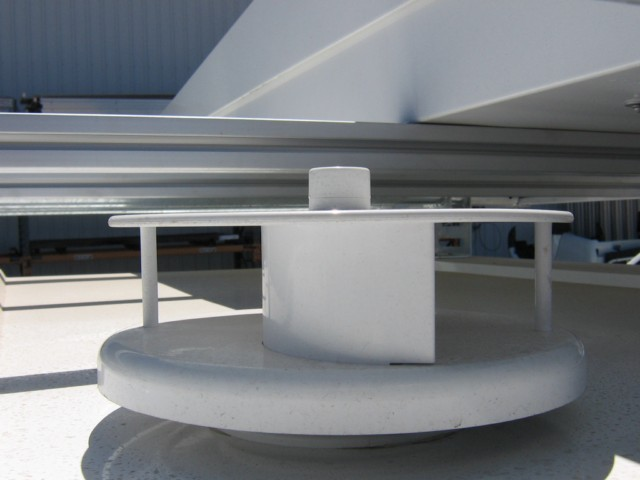 rotary vent - roof mount