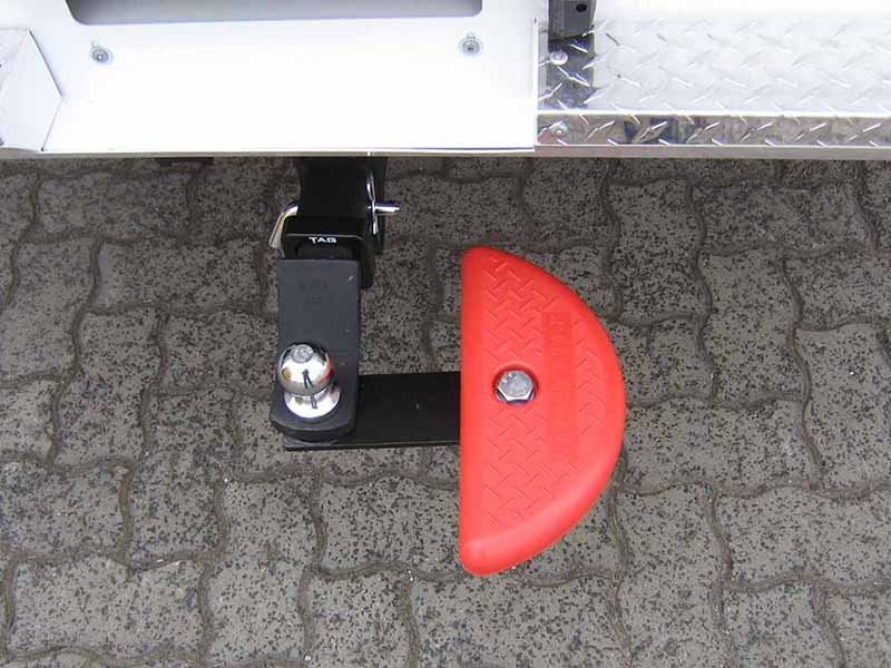 safety step rear plate 2 foot style