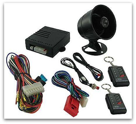 alarm kit - linked to vehicle