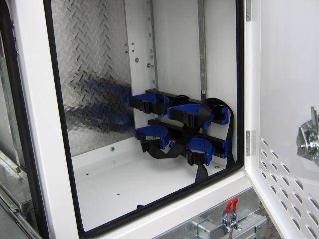 dual oxy & acet bottle holders