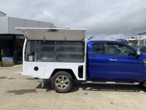 tradesman ute set up
