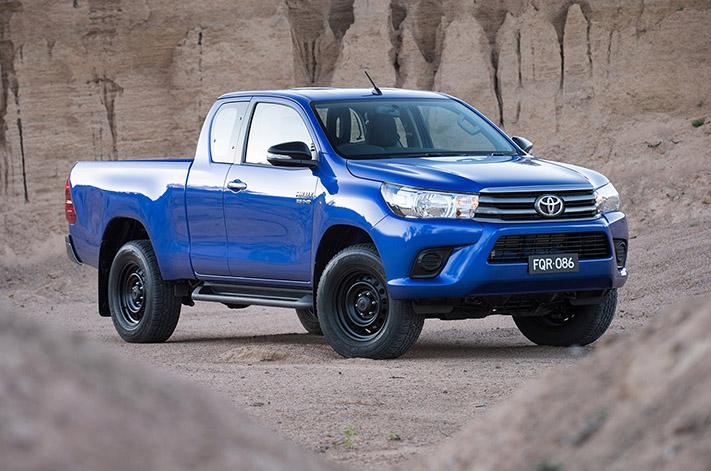 Toyota Hilux top tradie ute