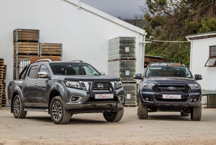Ford Ranger vs Nissan Navara Top Cars