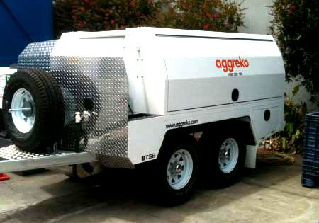 service truck trailer for trades