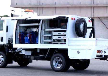 utility truck service body