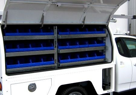 accessories for service body vehicles